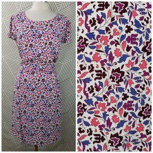 Gap Summer Dress 18 1X Floral Dress Lightweight
